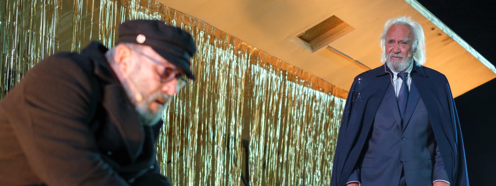 """2. Hauptprobe von """"Es ist noch nicht soweit"""", ein Stück von Sören Hornung. Foto: @Frank Drechsler Abdruck frei für Berichterstattung im Zusammenhang mit dem Festival Theaternatur2020. (Special Instructions)"""